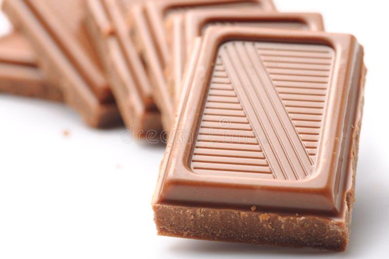 zakazuje czekoladowego mleko fotografia royalty free