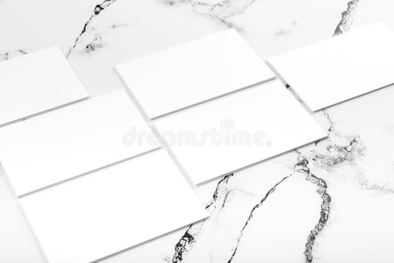 Zakelijke kaarten omhoog stock fotografie