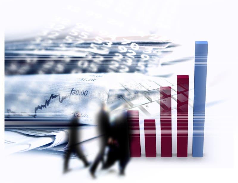 Zaken & Financiën stock illustratie