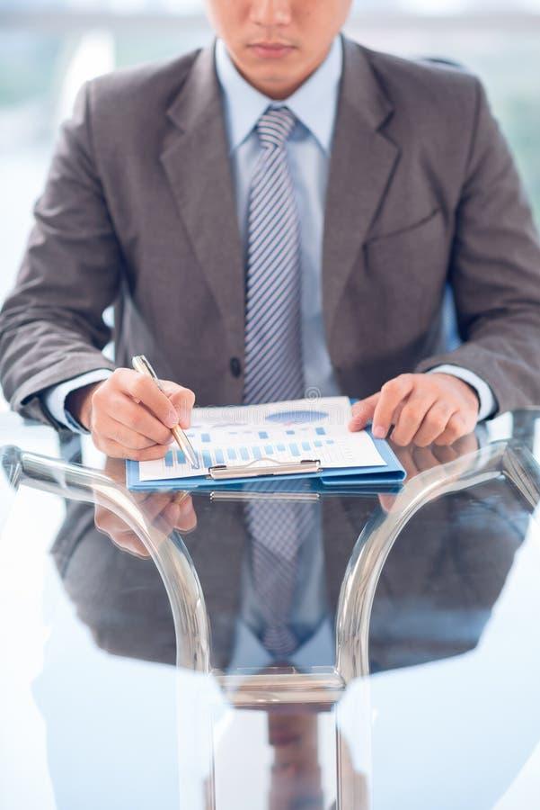 Zaken CEO stock foto's
