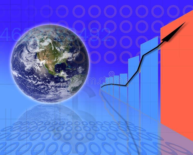 Zaken concept-11 stock illustratie