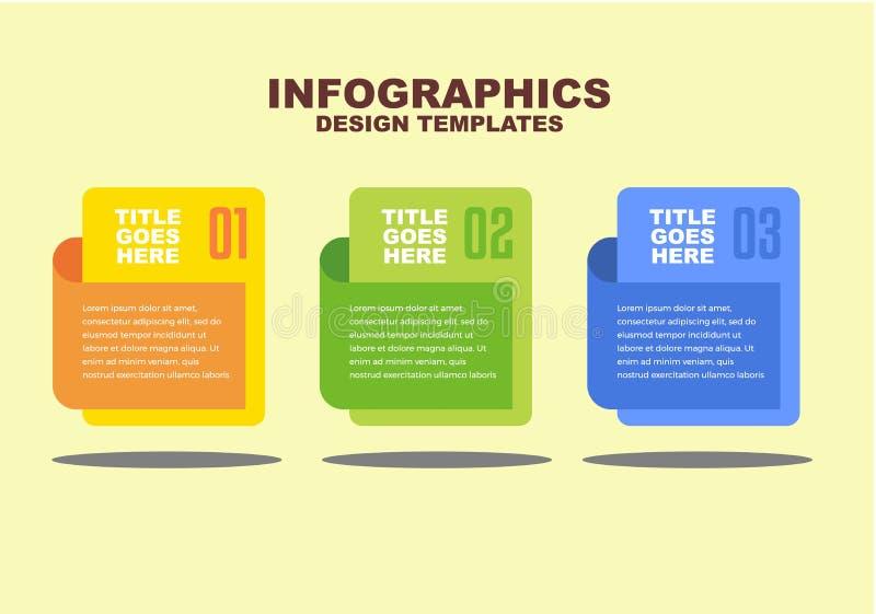 Zaken en communicatie Infographic met kleurrijke editable vector royalty-vrije illustratie