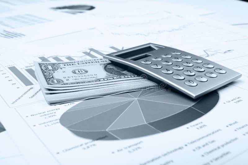 Zaken en financieel stilleven royalty-vrije stock afbeeldingen