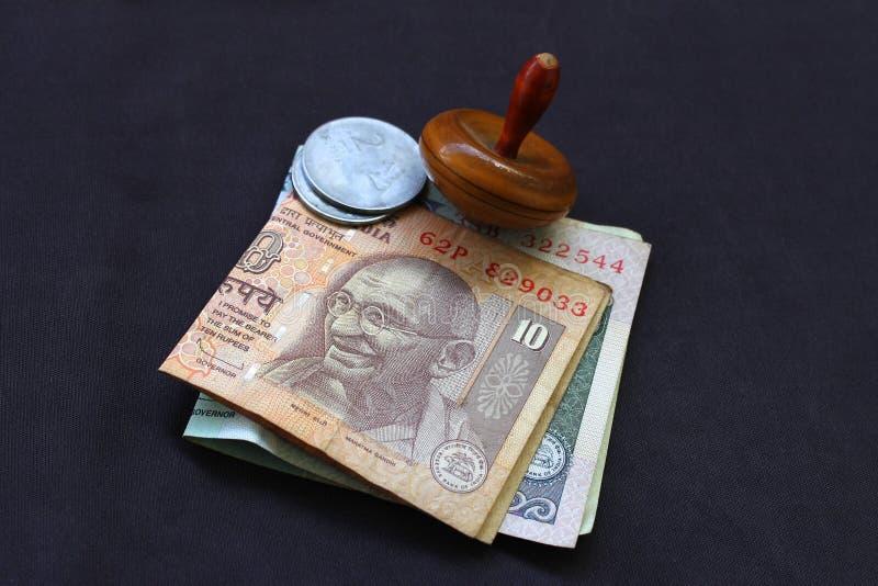 Zaken - Indische Munt - Zaken, Economie en royalty-vrije stock foto