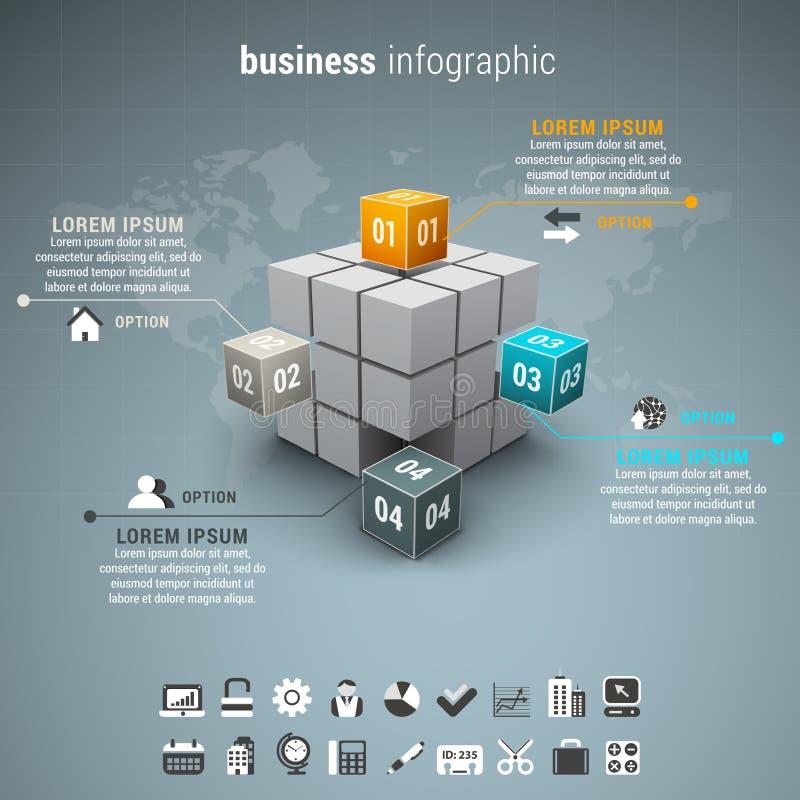 Zaken Infographic vector illustratie