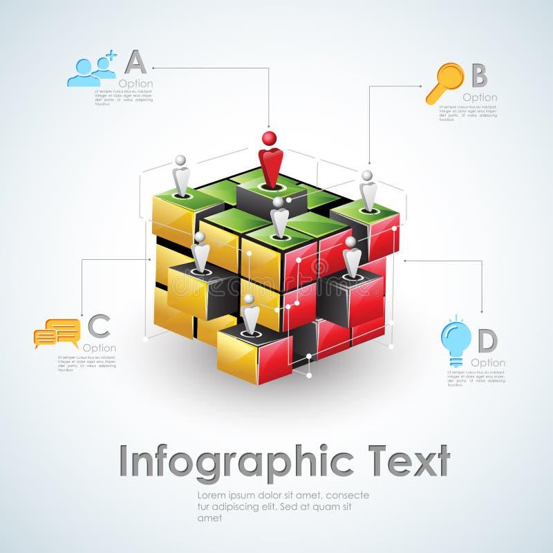 Zaken Infographics vector illustratie