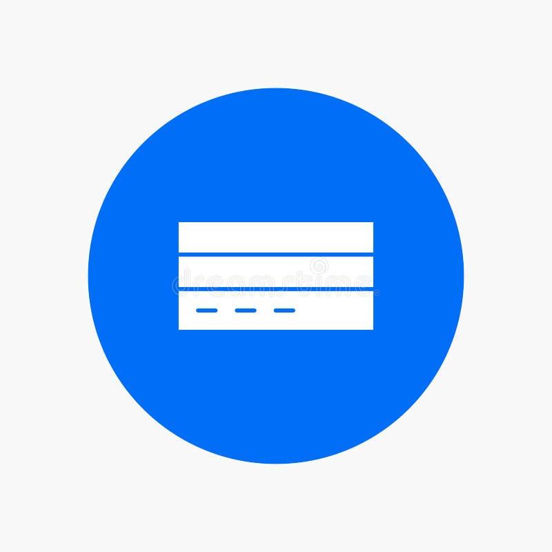 Zaken, Kaart, Krediet, Financiën, Interface, Gebruiker vector illustratie