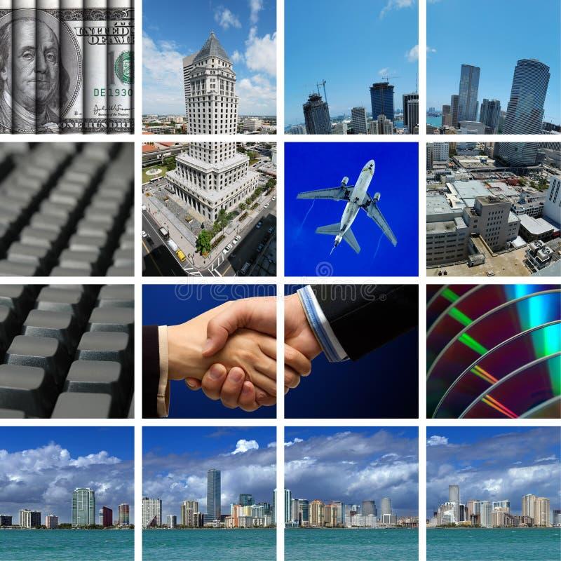 Zaken in Miami royalty-vrije stock fotografie