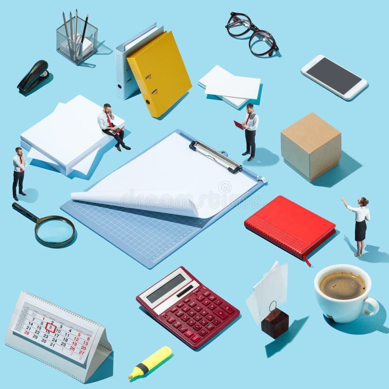 Zaken, rekrutering, het concept van de personeelsafdeling royalty-vrije stock afbeelding