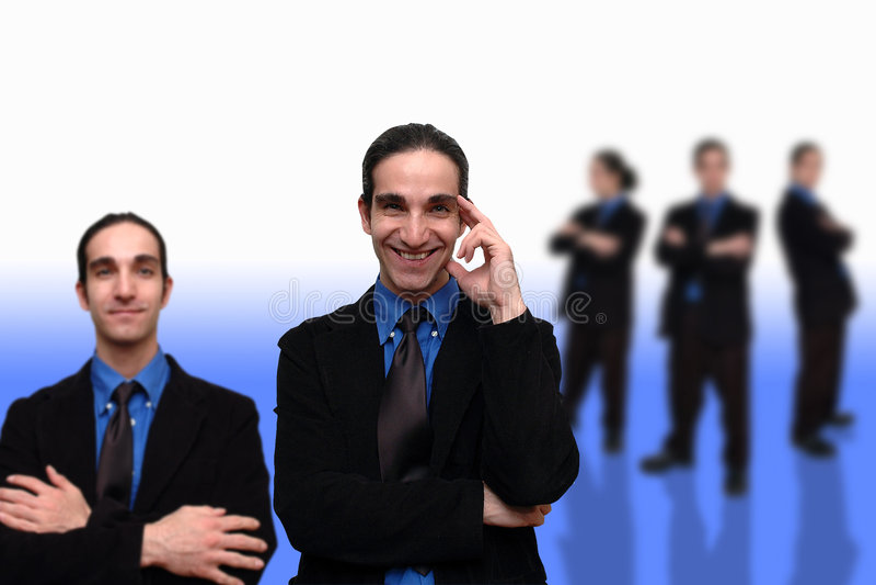 Zaken Team-10 Stock Afbeelding