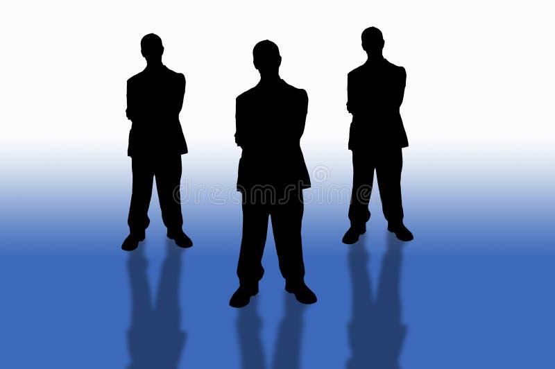 Zaken team-6 royalty-vrije illustratie