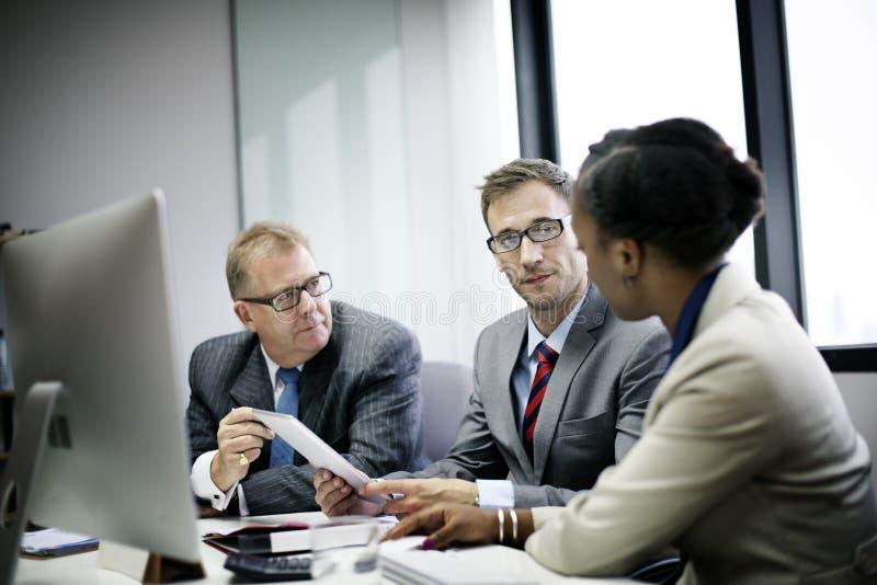 Zaken Team Corporate Organization Meeting Concept royalty-vrije stock afbeeldingen