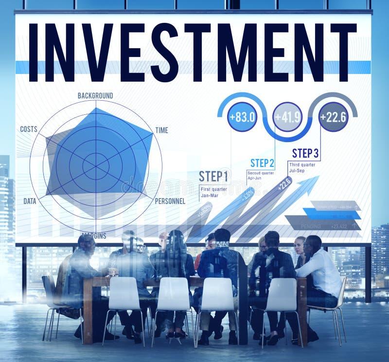 Zaken Team Discussion Meeting Analysing Concept stock foto
