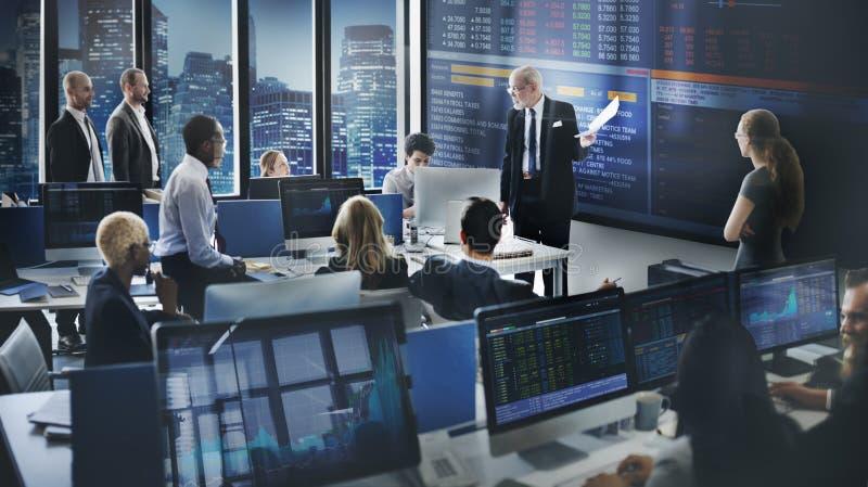 Zaken Team Investment Entrepreneur Trading Concept royalty-vrije stock fotografie