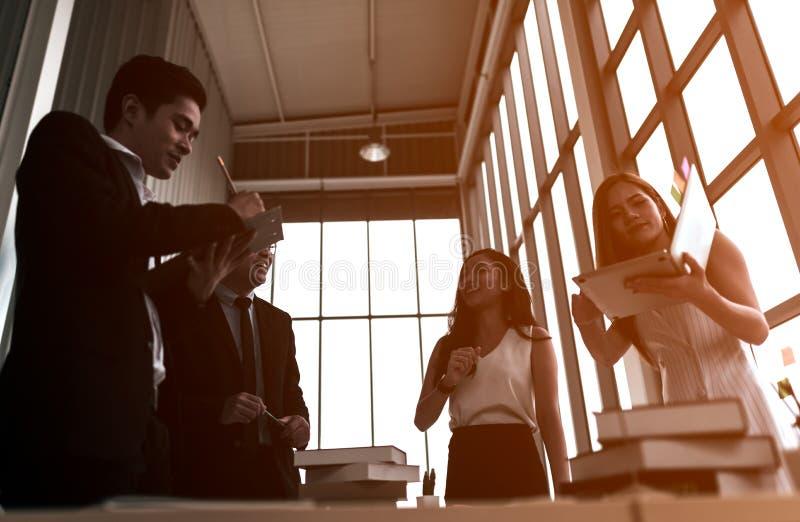 Zaken Team Meeting Discussion Concept royalty-vrije stock foto
