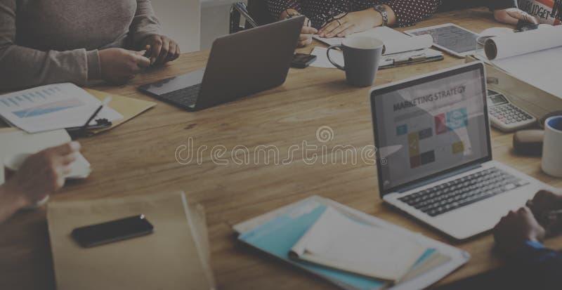 Zaken Team Working Office Worker Concept stock fotografie