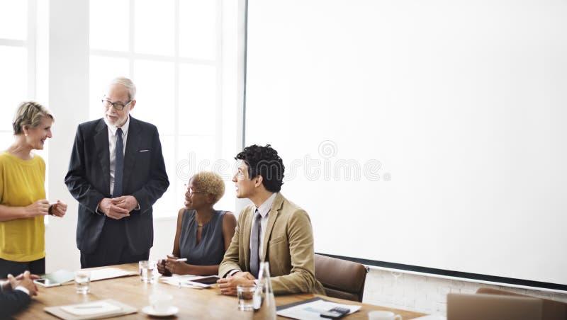 Zaken Team Working Office Worker Concept royalty-vrije stock fotografie