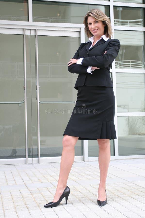 Zaken, Vrouw Corproate royalty-vrije stock foto