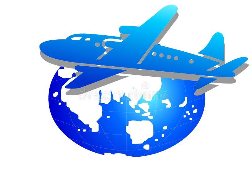 Zaken wereldwijd vector illustratie