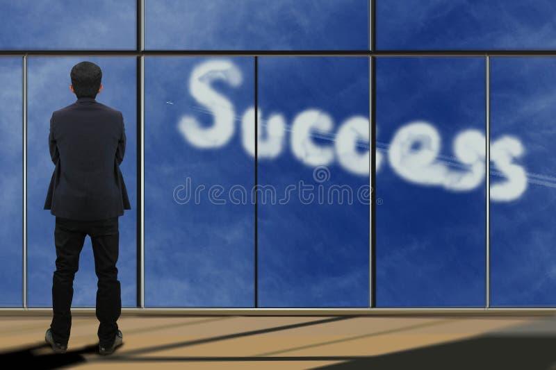 Download Zakenman Die Door Venster Kijken Stock Foto - Afbeelding bestaande uit status, manager: 39117946