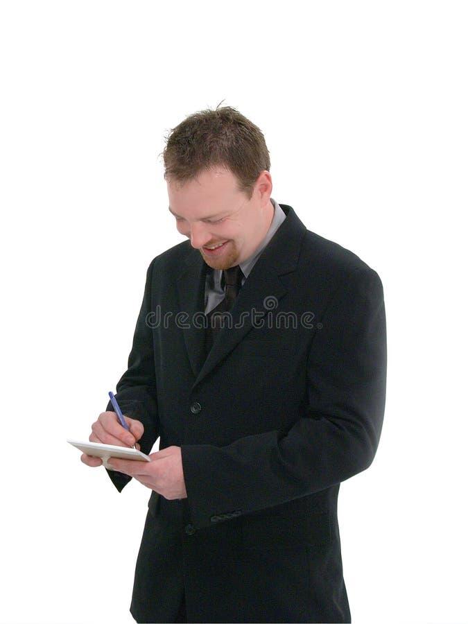 Zakenman, Kelner royalty-vrije stock foto's