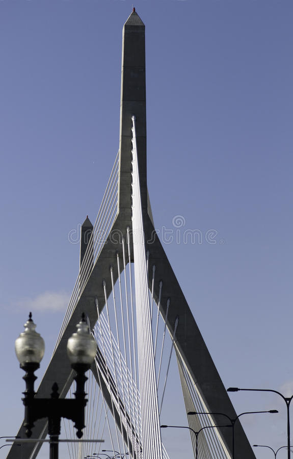 Zakim  Bridge towers and cable stays