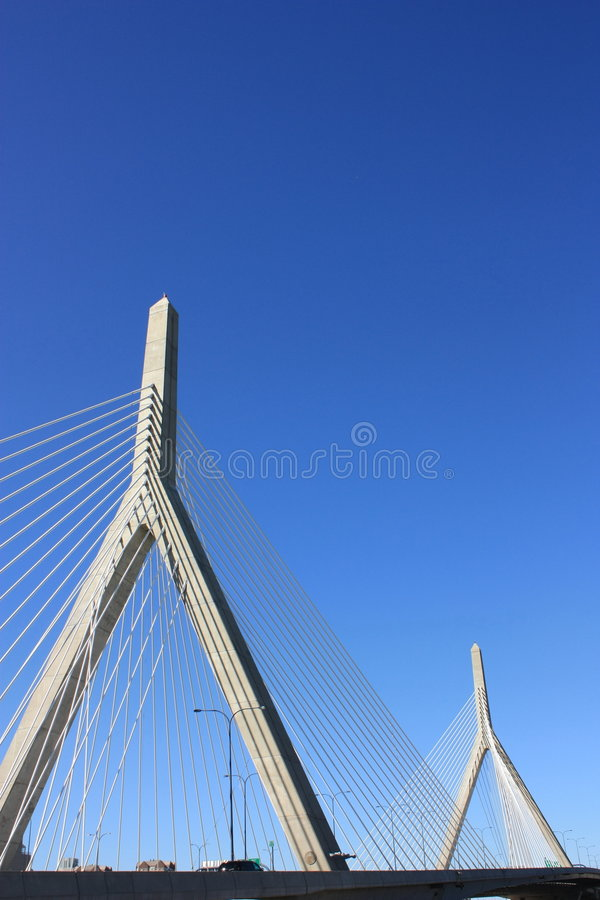 zakim de passerelle de Boston photos libres de droits