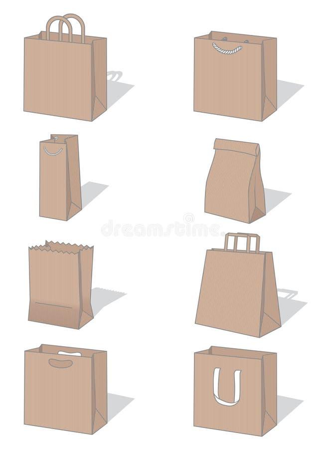 Zakken stock illustratie