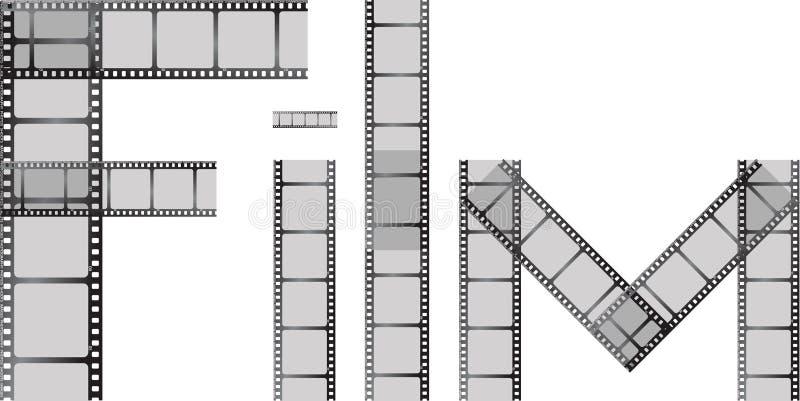 zaklęcie filmowego royalty ilustracja