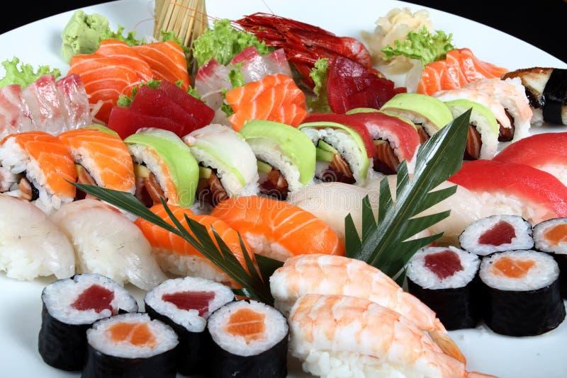 Zakończenia sashimi i obraz stock