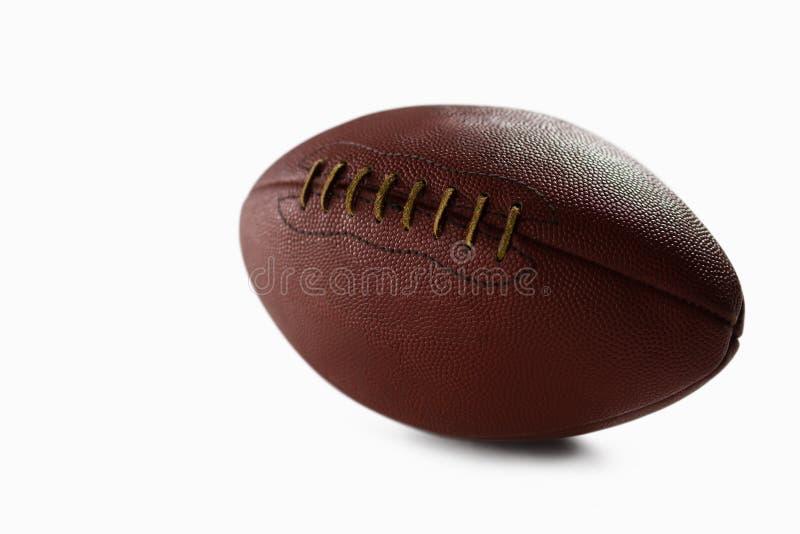 Zakończenie brown futbol amerykański obrazy royalty free