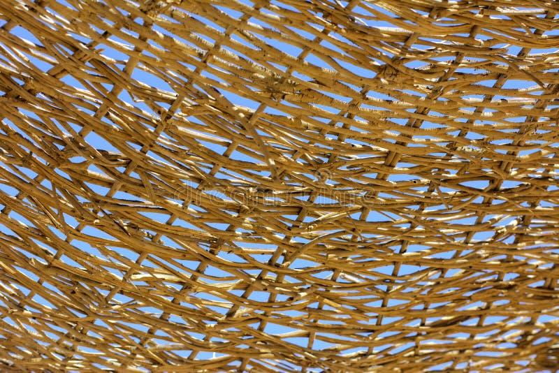 Zakończenie czerepy barkentyna drzewo w chaotycznym abstrakcjonistycznym projekcie zdjęcia royalty free