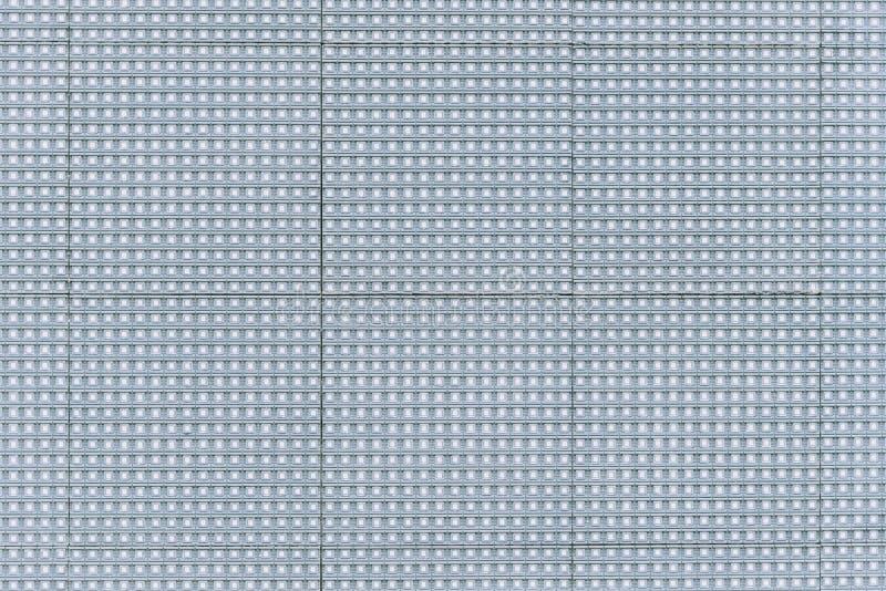 Zakończenie Dowodzony ekran up używa elektrycznego światło emituje billboard ekran fotografia stock