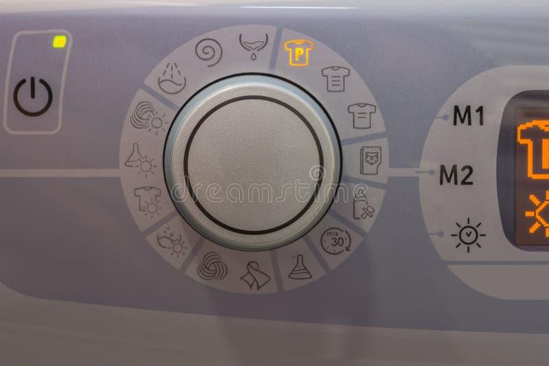 Zakończenie pralki gałeczka 3 zdjęcie stock
