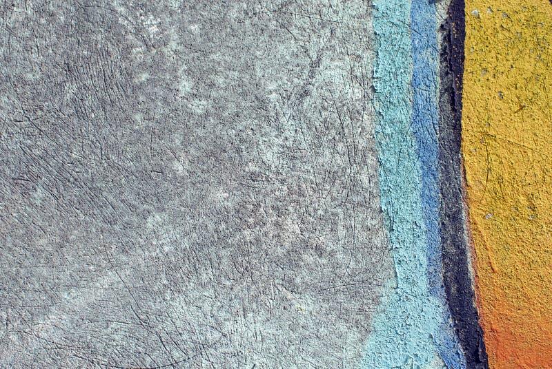 Zakończenie tynku ściany up tekstura dla tło i ciekawych tekstur zdjęcie royalty free
