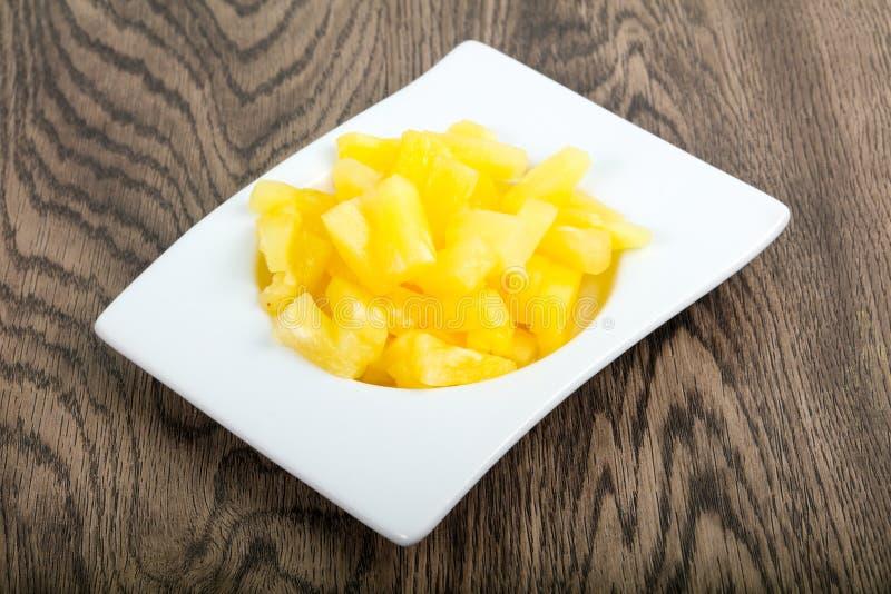 zakonserwowany ananas obraz royalty free