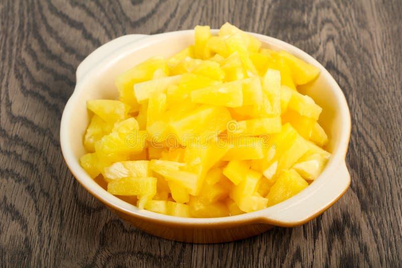 zakonserwowany ananas fotografia royalty free
