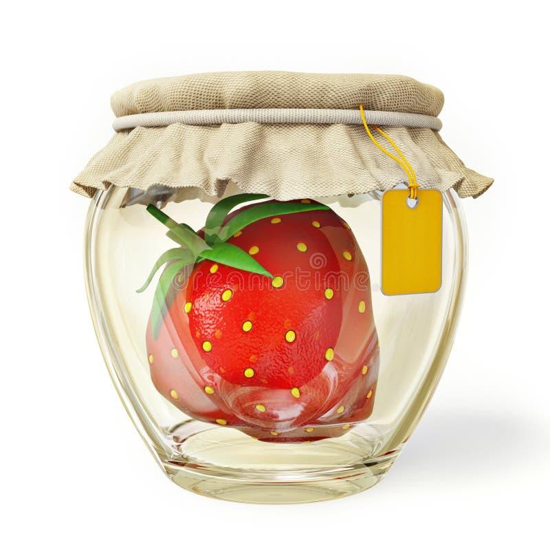 zakonserwowany owoc royalty ilustracja