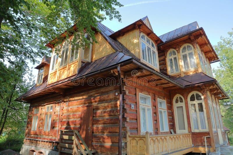 Zakopane polonia 16 settembre 2014 casa di legno in for Case in legno polonia