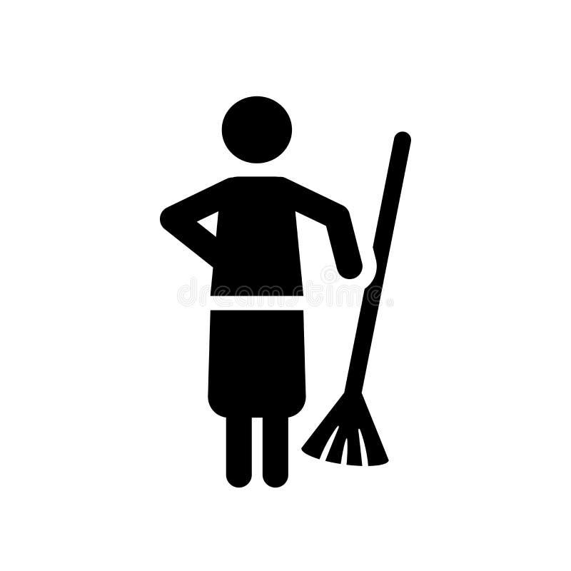 Zakres ikona Modny zakresu logo pojęcie na białym tle od c ilustracja wektor
