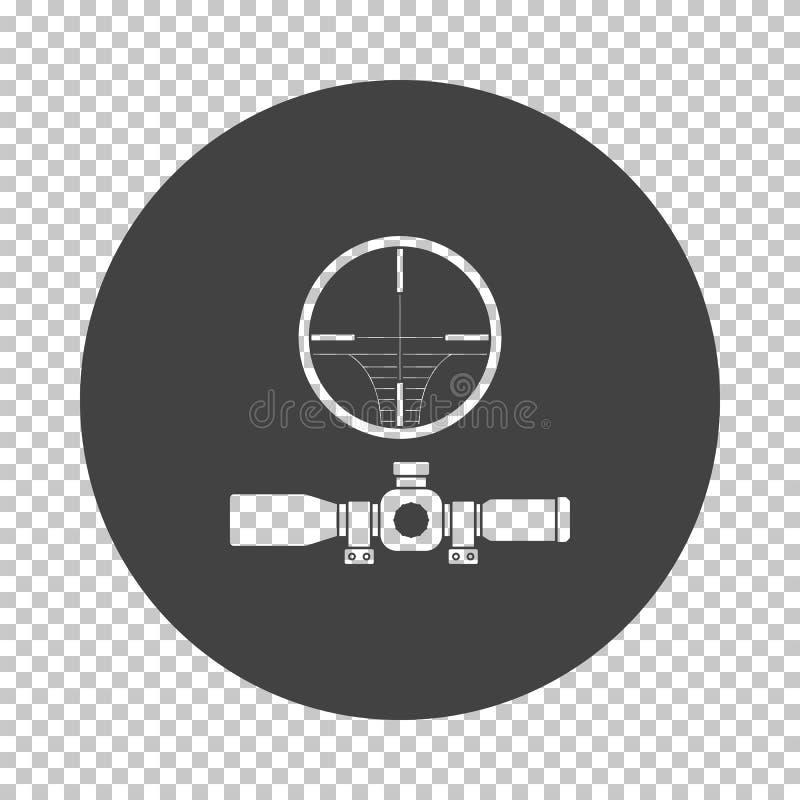 Zakres ikona ilustracji