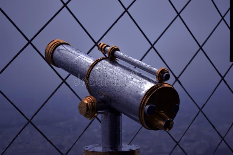 Zakres przy wieżą eifla obraz stock