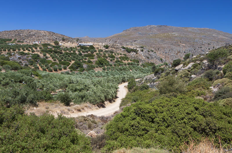 Download Zakros Gorge At Crete Island In Greece Stock Photo - Image: 27886698