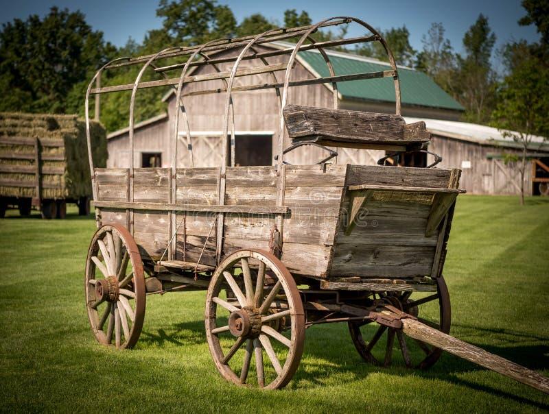 Zakrywający furgon zdjęcie stock