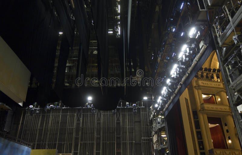 Zakulisowy Wiedeń opera zdjęcia stock