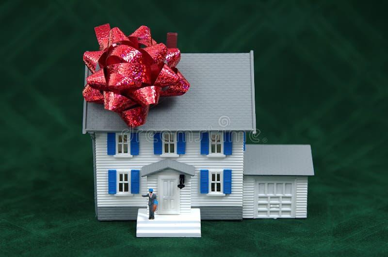 zakup domu obraz stock