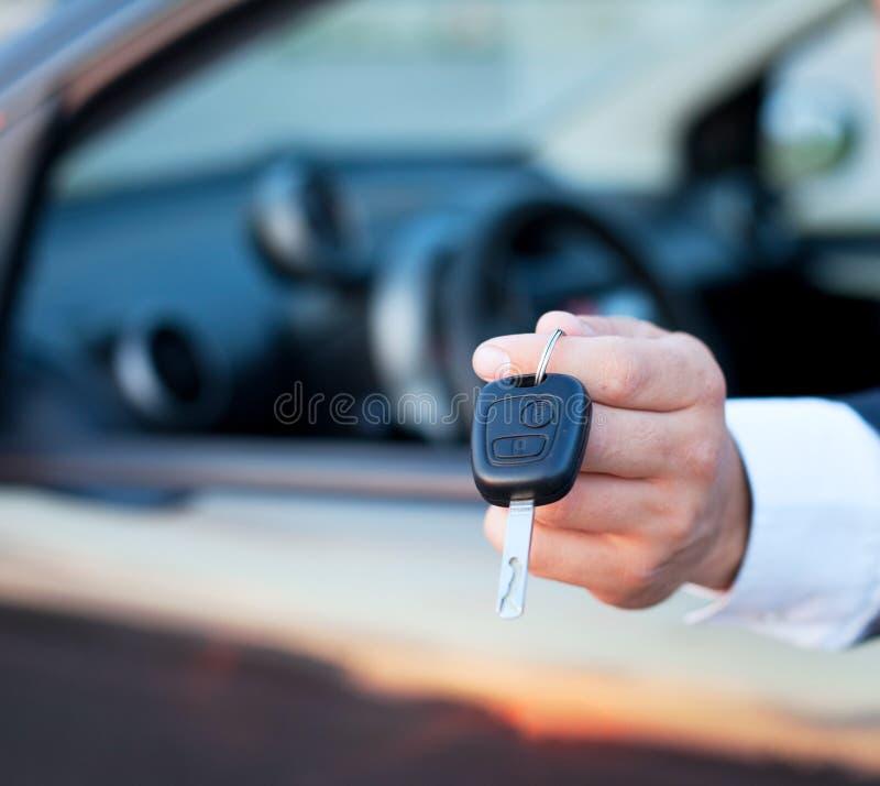 zakup nowego samochodu zdjęcie stock