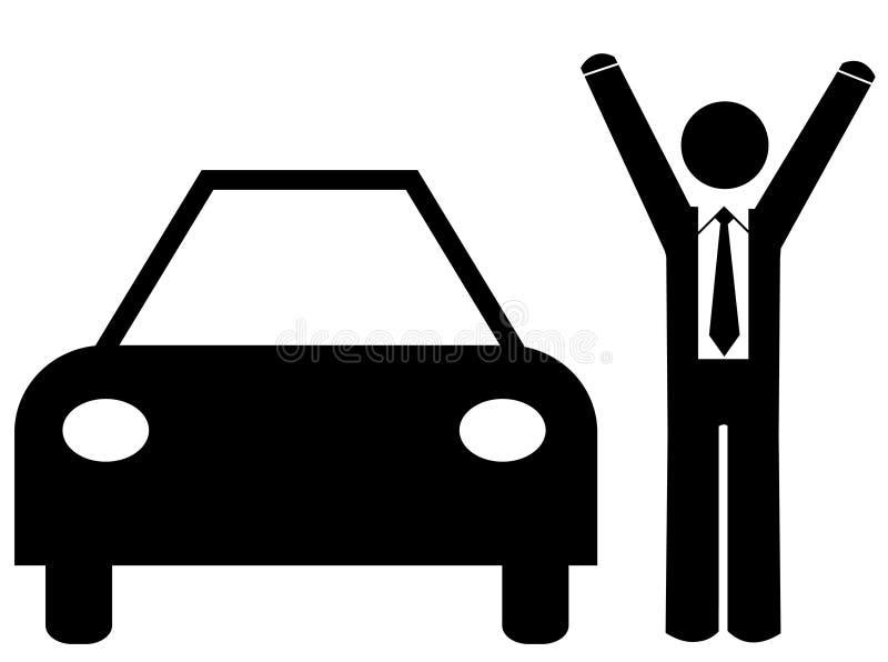 zakup samochodów sprzedaży ilustracji