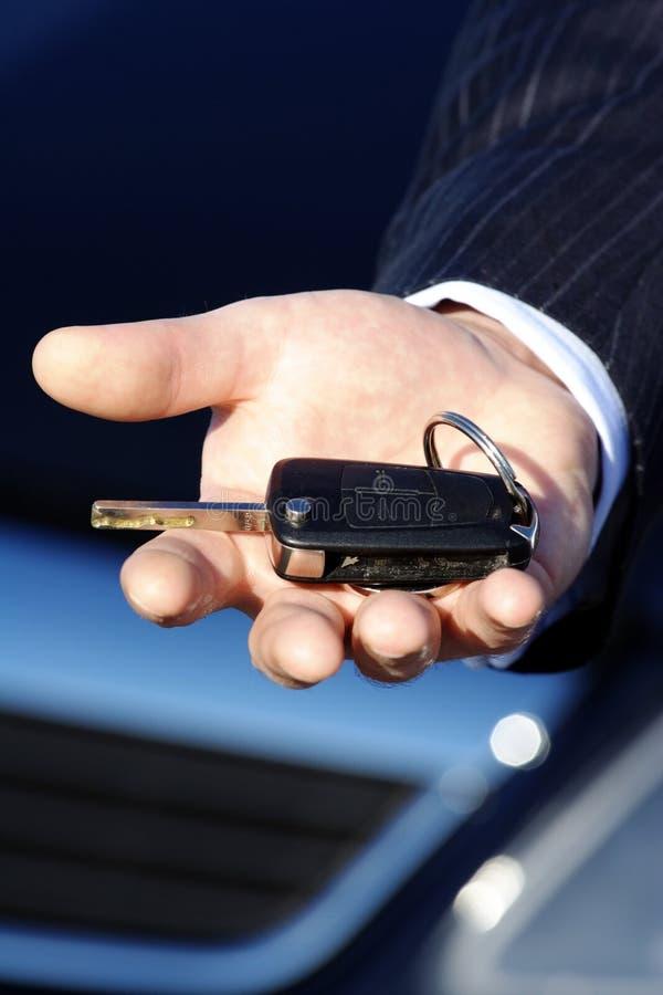 zakup samochodu klucz zdjęcia royalty free