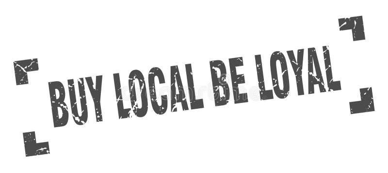 zakupu miejscowy by? lojalnym znaczkiem ilustracji